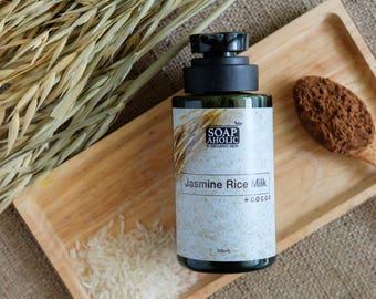 Jasmine Rice Milk + Cocoa Liquid Soap