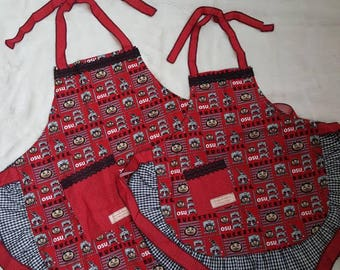 Mommy & Me OSU Apron Set