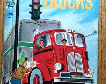 1959 Trucks Rand McNally Book Tip Top Elf Book