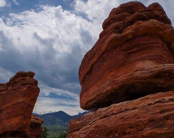 Balanced Rock, Garden of the Gods. (Colorado)