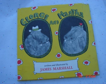 George and Martha written and Illustrated by James Marshall - 1972 - Sweet