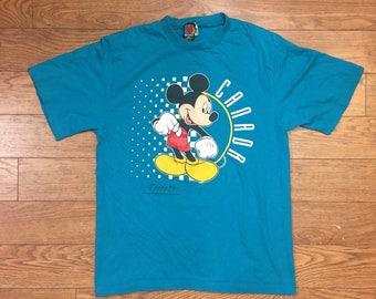 90's Disney Mickey Mouse 'Toronto Canada' T Shirt