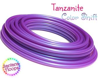 """3/4"""" UV Tanzanite Color Shifting Polypro Hula Hoop color shift morph"""