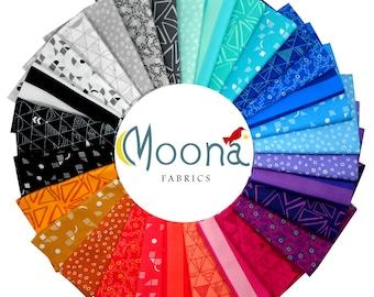 Panache Fat Quarter Fabric Bundle Rebecca Bryan, Cotton Quilt Fabric, Minimalist, Robert Kaufman, Bryan House Quilts, Modern Quilting Fabric
