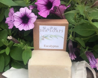 Eucalyptus Sea Salt Soap