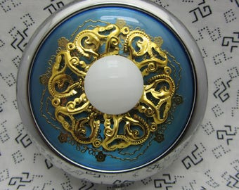 Compact Mirror Something Blue Comes With Protective Pouch Gift For Her