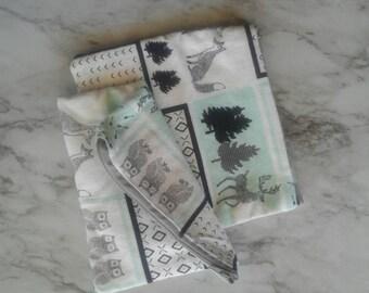 Woodland Makeup bag