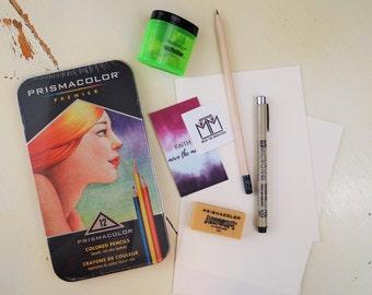 Bible Journaling Supplies - Colored Pencils - Bible Journaling - Prismacolor