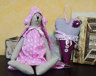 Tilda Hare Bunny Rabbit Toy Stuffed Toy Decoration