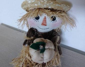 10' Scarecrow, Autumn, Halloween rag doll, Raggedy Ann