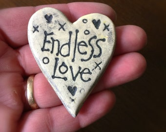 2 Endless Love Ceramic Tile