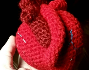 Human Heart Stuffie