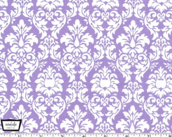 Petite Dandy Damask - Purple Lavender from Michael Miller