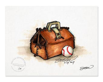 Limited Edition Roy Halladay Tribute - ART PRINT (8.5X11 Inches)