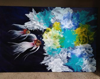 Into the Abyss 36 x 24