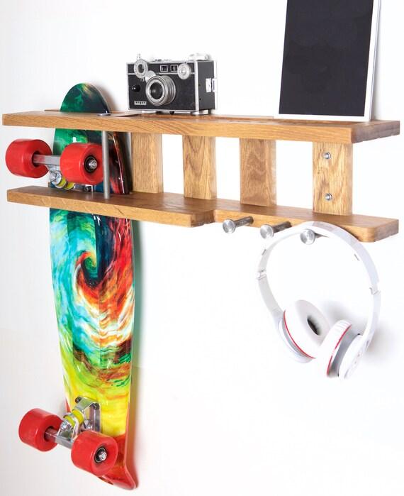 Skateboard Rack Holder & Organizer