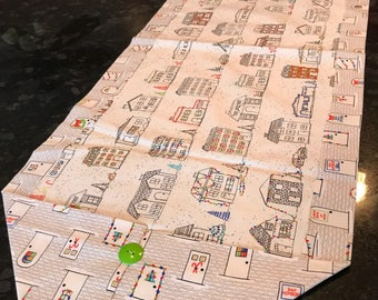 City Sidewalks Table Runner