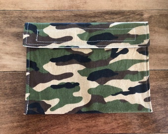 Camo - Reusable Snack & Sandwich Bags