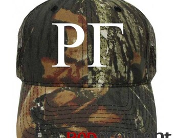 Rho Gamma Hat, Monogrammed Camo Hat, Monogram Baseball Cap, Monogram Camouflage Hat, Personalize Baseball Hat, Sorority Gift, Embroidere Cap