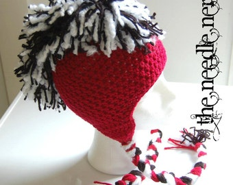 The Mohawk Hat PDF Pattern All Sizes - Instant Download