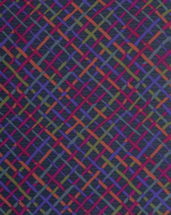 MAD PLAID CHARCOAL BM053 Fall 2015 Brandon Mably for Kaffe Fassett Collective Sold in 1/2 yd increments