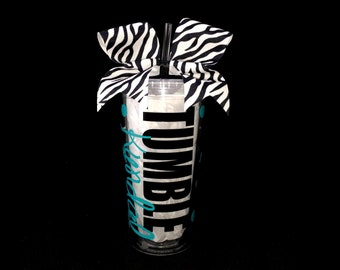 Deluxe Personalized Gymnastics Tumbler Cup