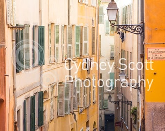 Nice, France, Cote Azure, Mediterranean village, travel photo, Fine Art Photography, travel photography, Gallery Prints,
