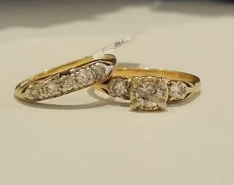Vintage Bridal Set
