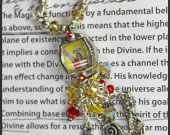 As Above So Below Tarot Necklace