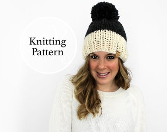 Knitting Pattern Annapolis Hat Instant Download
