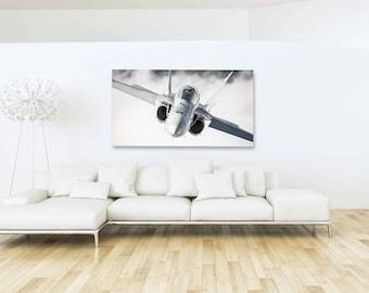 Airplane Decor, Airplane Wall Art, Aviation Art, Airplane Prints, Pilot Gifts, Airplane Photo, Airshow, Swiss Airforce F/A-18 Hornet