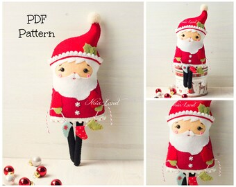 PDF Pattern. Long legs Santa