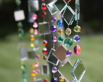 NINE strings of Tree Jewelry, whimsical and colorful tree bling