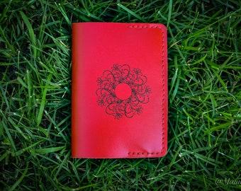 Passport cover, Passport holder, Leather passport cover, Personalized passport cover