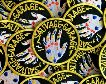 "Patch ""Wild Garage"""