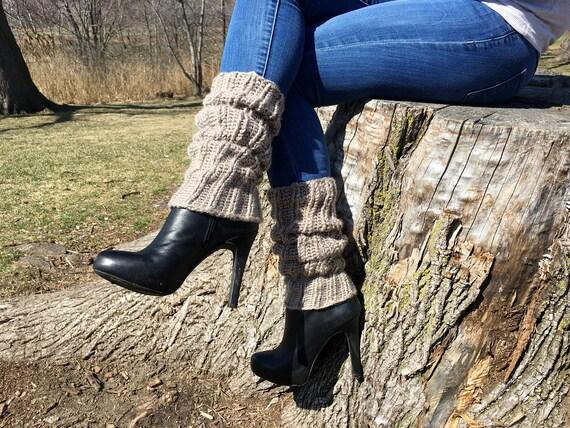 Slouchy Leg Warmers CROCHET PATTERN Leg Warmers pattern