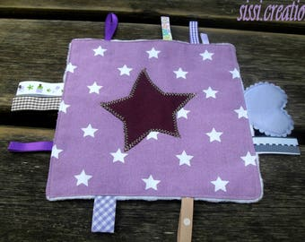 Large soft taggy Purple Star
