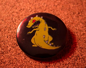 2.25 inch Reptar Pin-back Button