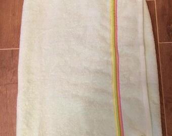 Towel Wrap for Bath & Shower