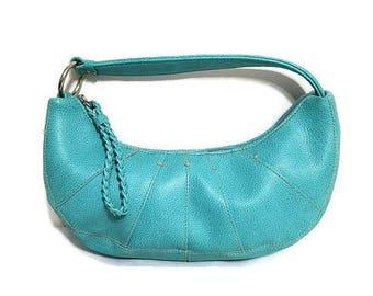 Blue Bag Hilfiger Turquoise Purse Handbag