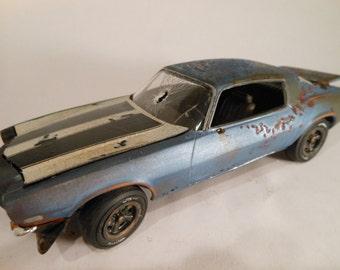 RustedWreck, Scale Model ,Camaro Car, ChevyCamaro, Classicwrecks,RatRod