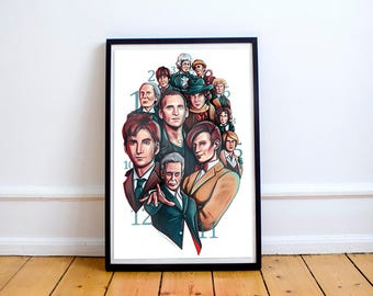 The Doctors Art Print