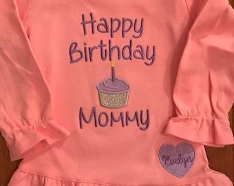 Happy Birthday Mommy ~ Happy birthday mommy happy birthday shirt mom shirt baby