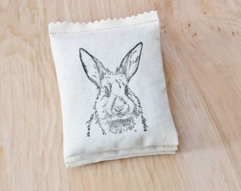 Bunny Rabbit Lavender Sachets - Baby Shower Favors - Spring Party Favors - Cute Birthday Gift