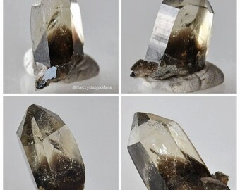 Citrine and Black Tourmaline inclusions from Erongo