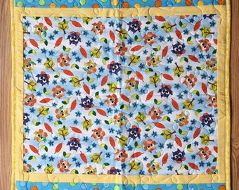 Baby Quilt, Owls