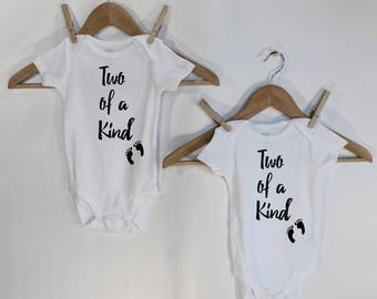 Twins Baby Gifts, Twins Onesies, Twins Gifts, Twins Outfit, Twins Baby Shower, Twins Baby Clothes, Twins boy, Twins Girl, Baby Shower Gift