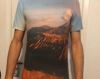Mountain Range All over print tee