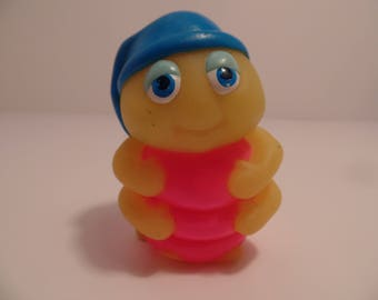 1986 GLOW WORM -Glow BugFriends (Finger Puppet)