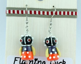 Ndebele doll earrings
